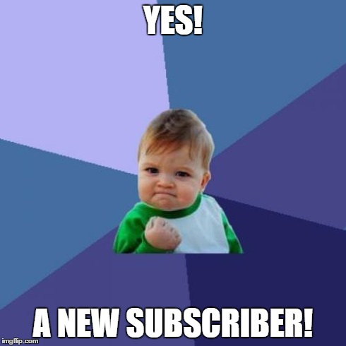 new subscriber